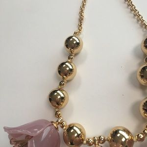 kate spade Jewelry - New Kate spade flower drop trio statement necklace